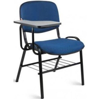 Cadeira Universitária com Prancheta e Porta Livros CAMPOS Estofada 02