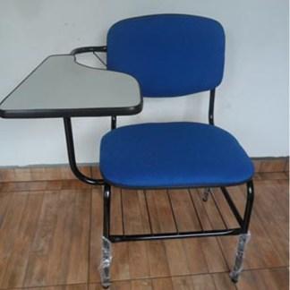 Cadeira Universitária com Prancheta e Porta Livros OBESO 200Kg
