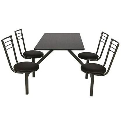 Mesa de Lanchonete com Cadeiras RIO AZUL 2