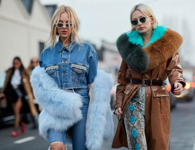 mistura de texturas moda outono inverno