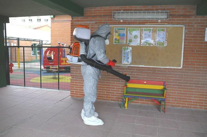 Desinfección en colegios Boadilla