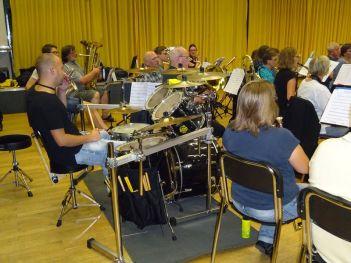 Blasorchester Aachen Haaren - Probe