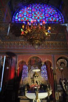 Inside the Moorish Kiosk