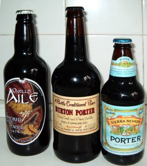 A trio of porters from Utobeer