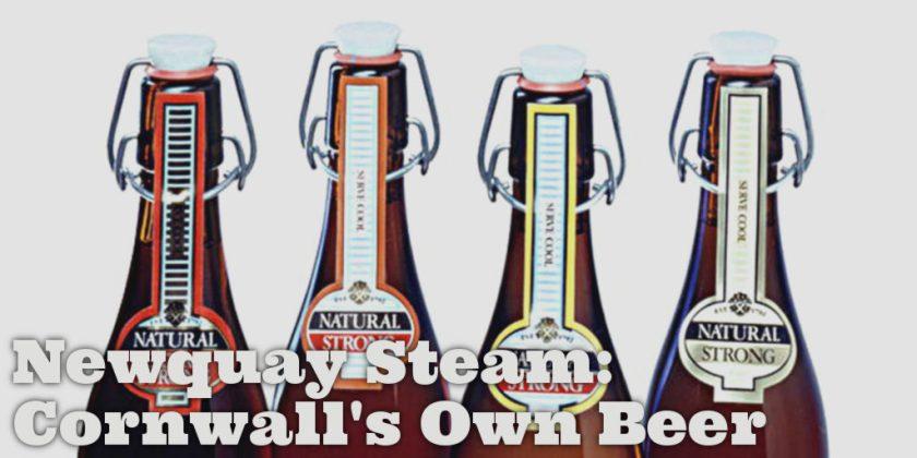 Newquay Steam Beer swingtop bottles.