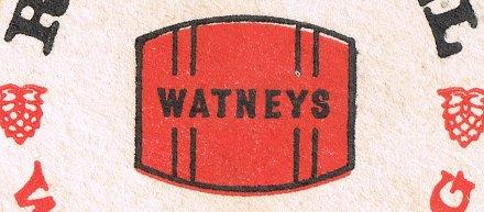 Watneys Red Barrel: detail of beer mat c.1968