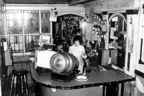 Becky's Dive Bar in the early 1970s.