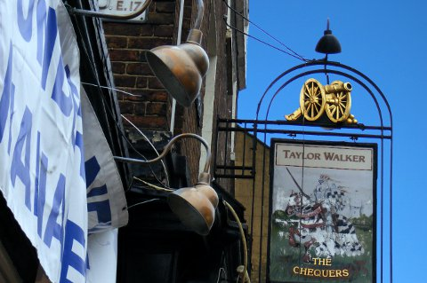 The Chequers, London E17.