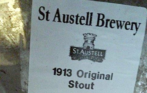 Cask of St Austell 1913 Original Stout