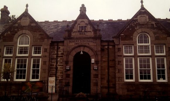 The Miners and Mechanics Institute, St Agnes, Cornwall.