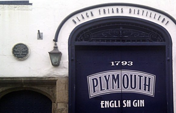 Plymouth Gin Distillery, Devon, UK.
