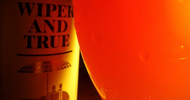 Beer from Wiper and True Brewing Company.