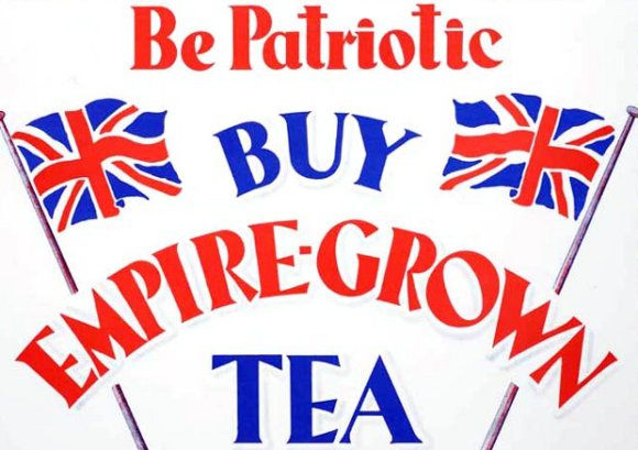 Buy British Tea poster.