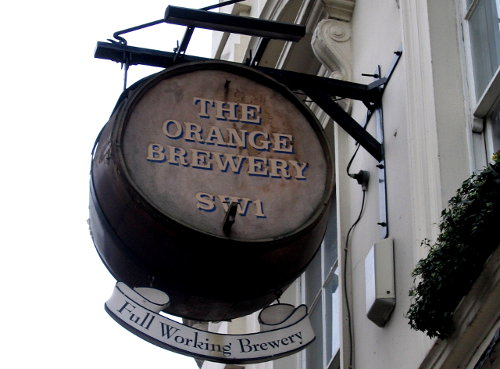 The Orange Brewery, Pimlico.
