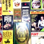 Some beer books that we've used for research.