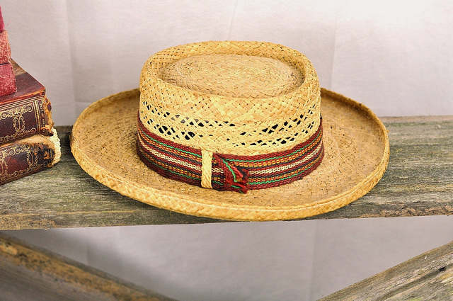 Straw Hat by Wicker Paradise on Flickr, under Creative Commons.