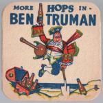Ben Truman beermat c.1956.