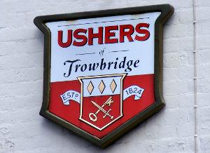 Ushers sign