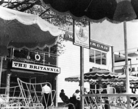 The Britannia, Expo 58, Brussels.