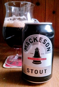 Mackeson Stout can.