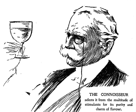 The Connoisseur. (Of whisky, not beer.)