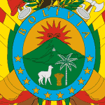 Bolivian Flag (detail)