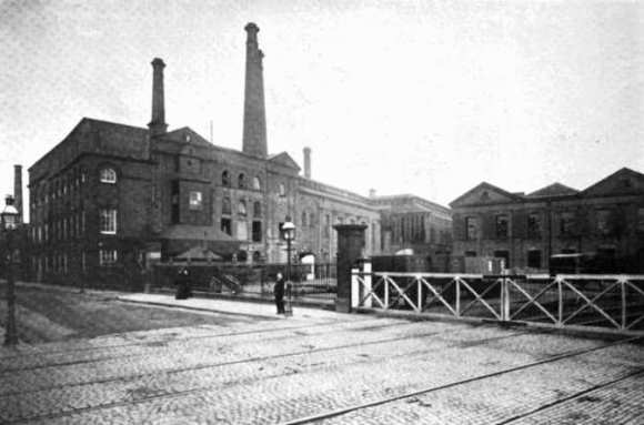 Allsopp's, Burton-on-Trent, c.1900,.