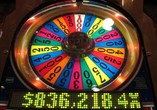 Adapted from Wheel of Fortune by BuzzFarmers, via Flickr, under Creative Commons.