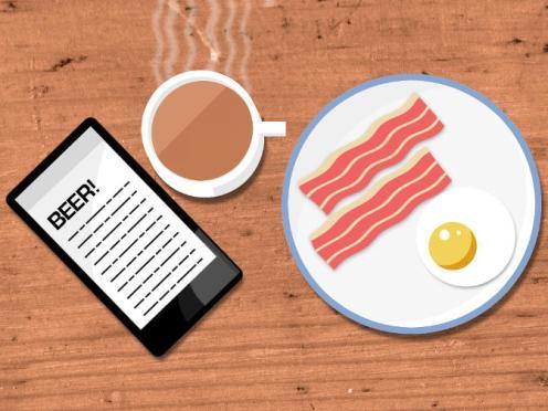 Breakfast illustration, March 2015 variation.