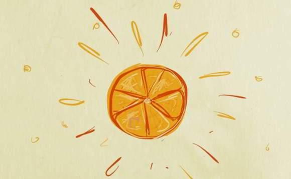 Illustration: 'Citrus burst'.