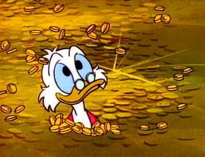 Scrooge McDuck.