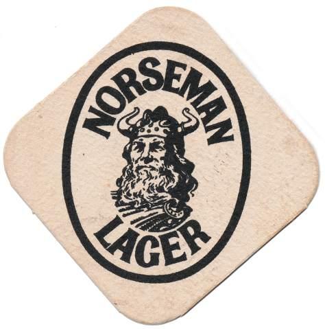Norseman Lager, 1970s.