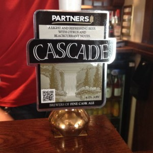 Pump clip for Partners Cascade.