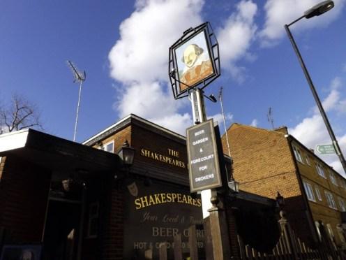 Shakespeare's Head, Islington.