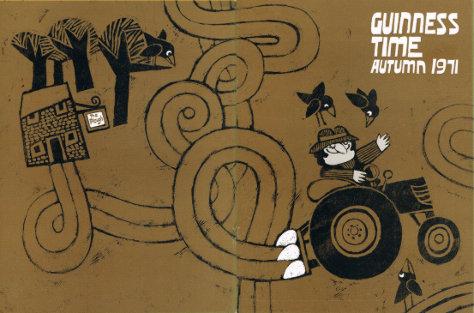 Wraparound cover for Autumn 1971 featuring 'The Plough' pub.
