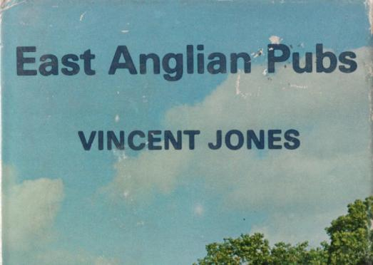 Detail from the cover of 'East Anglian Pubs' by Vincent Jones.