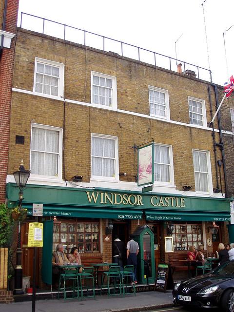 The Windsor Castle by Ewan M.