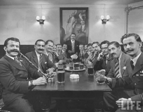 The Handlebar Club, 1947.