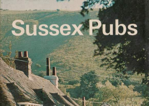 Detail from the cover of 'Sussex Pubs', Batsford books.