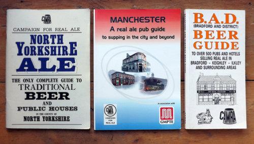 CAMRA local guide books 1990s-2000s.