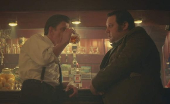 """Cradle to Grave"" -- pub scene w. Peter Kay as Danny Baker's Dad, Spud."