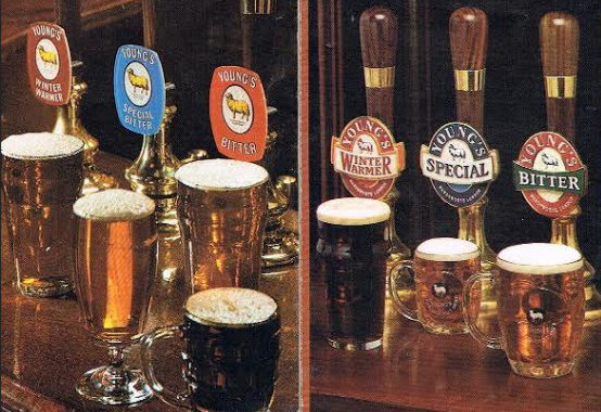 Young's Pump Clips 1984 and 1994.