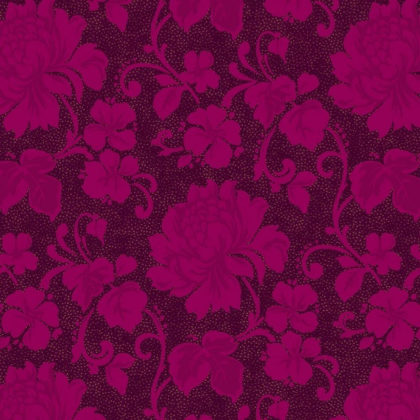 Flower design wallpaper, purple and pink.