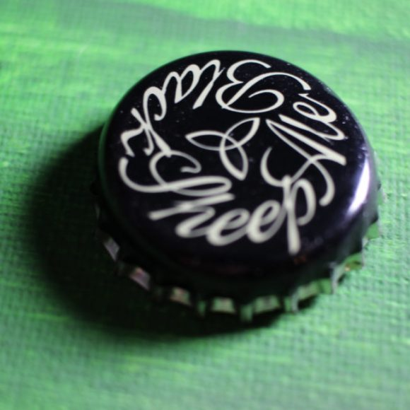 Black Sheep bottle cap.