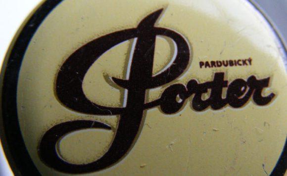Baltic porter beer bottle cap: Pardubicky Porter.