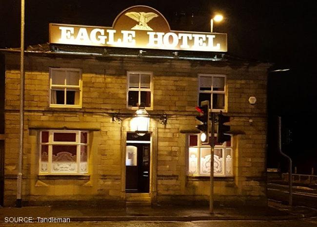 The Eagle Hotel.