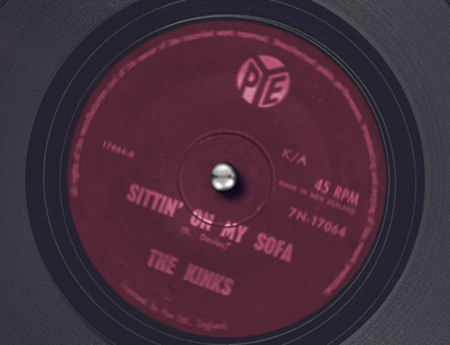 Record spinning: 'Sittin on my Sofa' by the Kinks