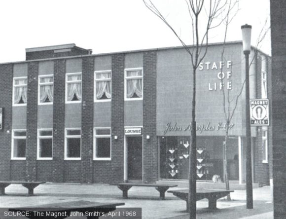 The exterior of the Staff of Life pub, Doncaster.