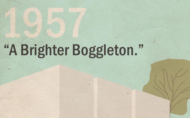 1957 header image: A Brighter Boggleton.
