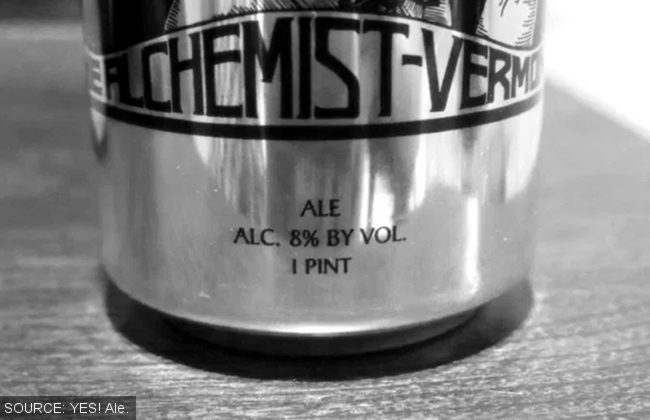 Alchemist can labelling.